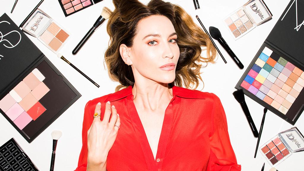 Emma Roberts Hailey Baldwin Makeup