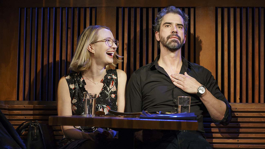 The Pain of My Belligerance -Halley Feiffer and Hamish Linklater - Publicity-H 209