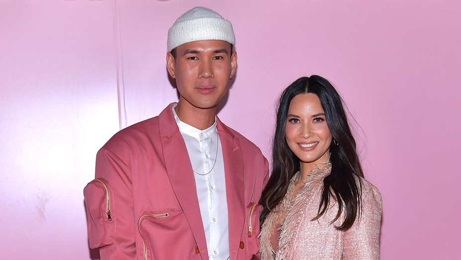 Patrick Ta and Olivia Munn attend the launch of Patrick Ta's Beauty Collection-Getty-H 2019