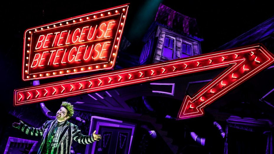 Reinterpreting Tim Burton's Beetlejuice on Broadway-Production Still-v2--H 2019