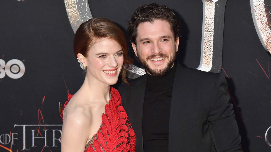 Rose Leslie and Kit Harington_GoT Premiere - Getty - H 2019