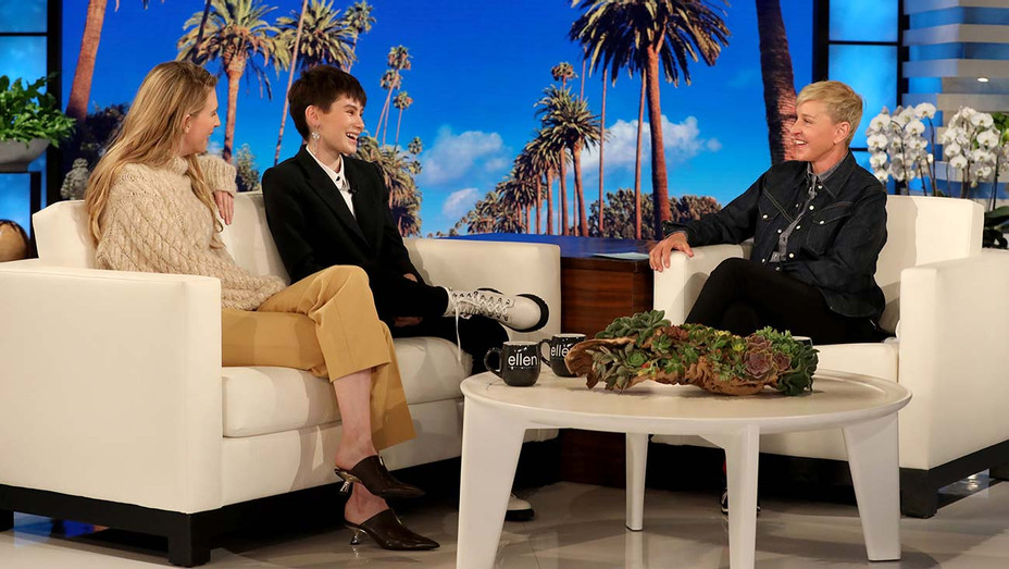 The Ellen DeGeneres Show - Ian Alexander and Brit Marling - Publicity-H 2019