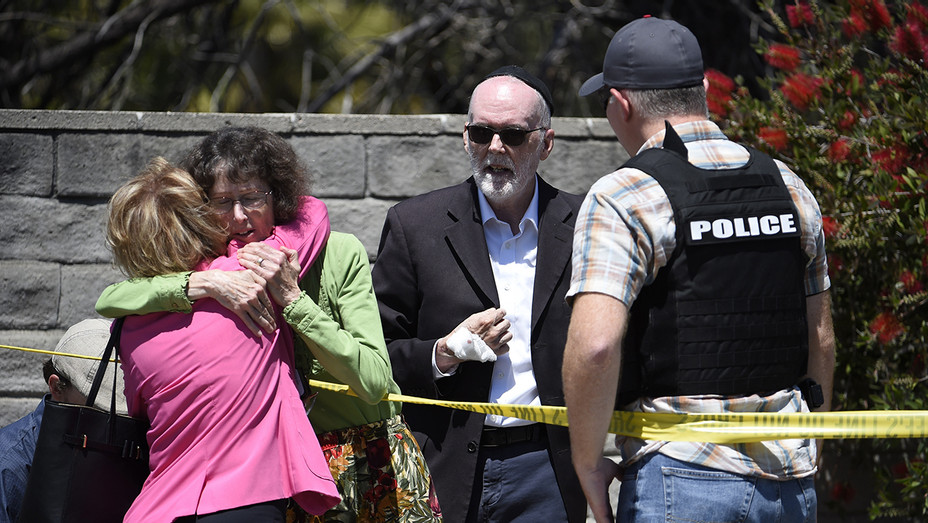 ONE TIME USE ONLY — San Diego Synagogue Shooting  — AP — H 2019