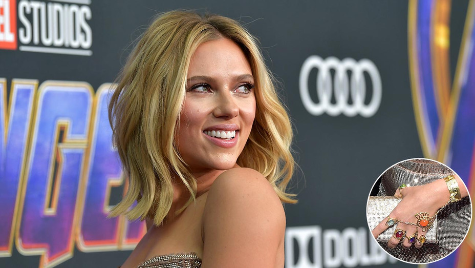 Scarlett Johansson S Avengers Endgame Premiere Jewelry Was A Gift From Colin Jost Hollywood Reporter