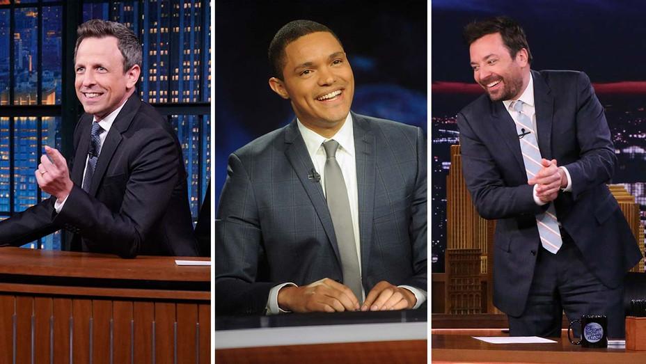 Seth Meyers Late Night Trevor Noah Daily Show Jimmy Fallon Tonight Show - Publicity - H 2019