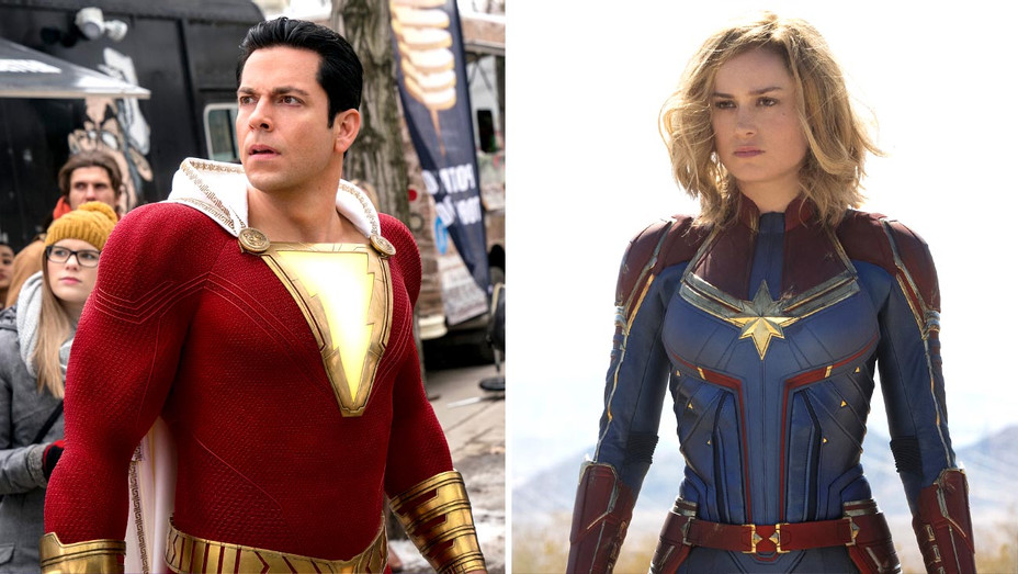 Shazam!-Captain Marvel-Publicity stills-Photofest-Split-H 2019