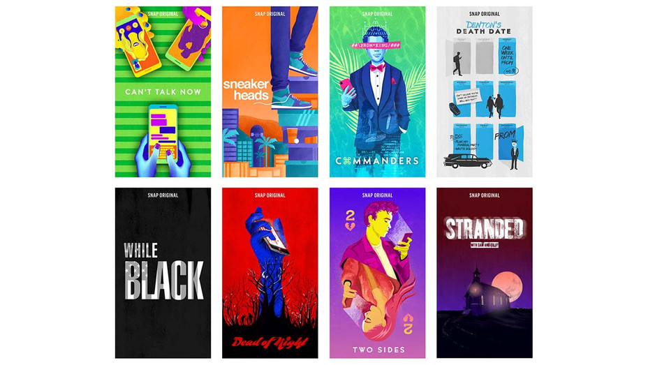 Snap Originals Show Posters - Publicity - H 2019