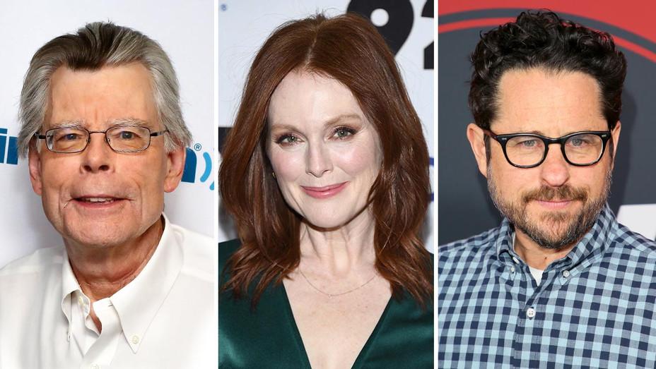 Stephen King, Julianne Moore and J.J. Abrams-Getty-Split-H 2019