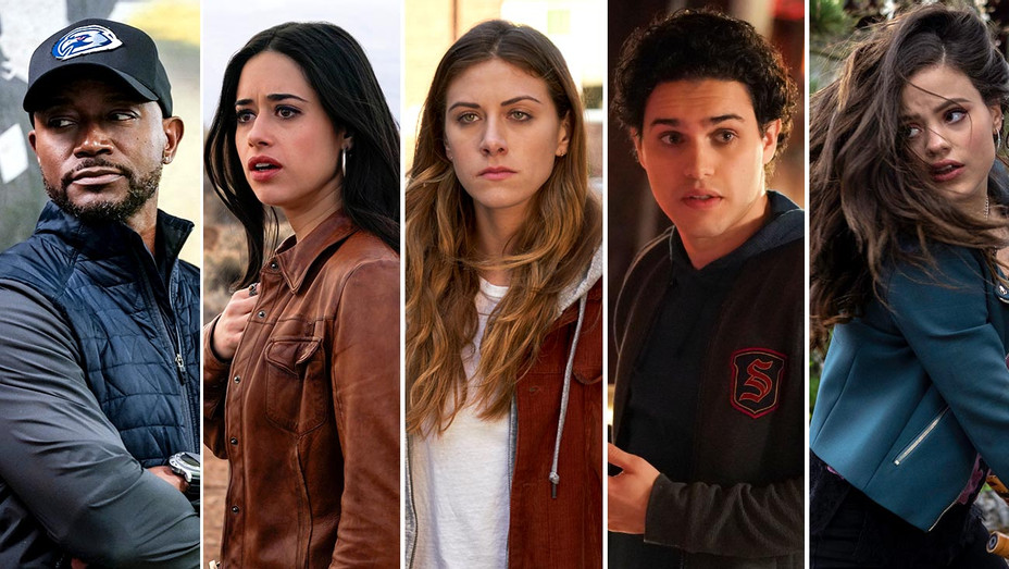 The CW's All American, Roswell, In the Dark, Legacies and Charmed-Publicity Stills-Split-H 2019