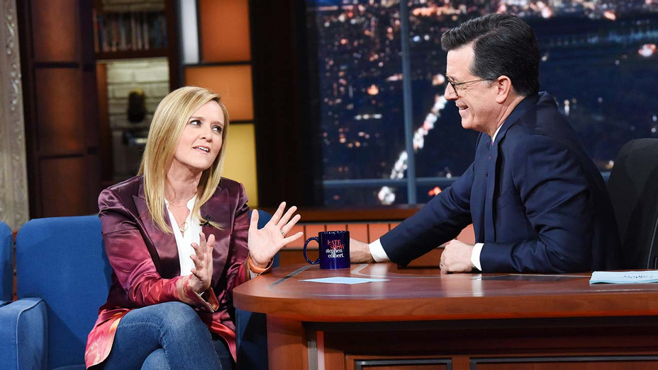 The Late Show with Stephen Colbert and guest Samantha Bee - Publicity - H 2019