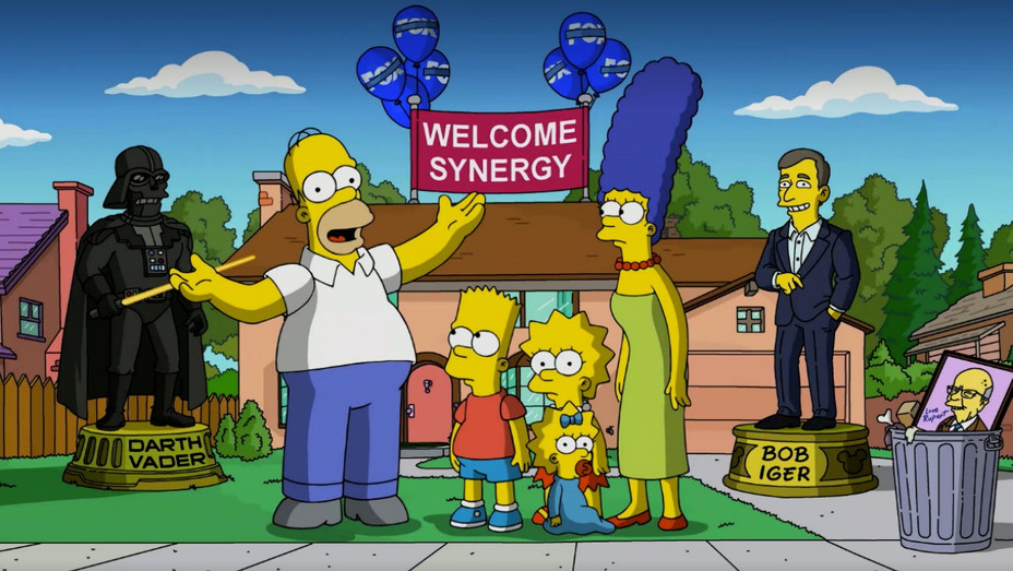 The Simpsons Disney+ H - 2019