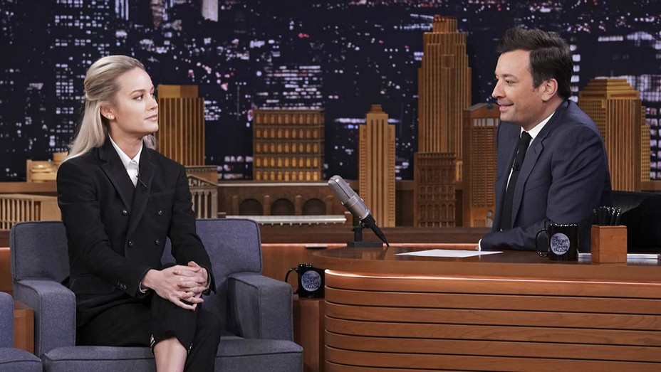 THE TONIGHT SHOW STARRING JIMMY FALLON_Brie Larson - Publicity - H 2019