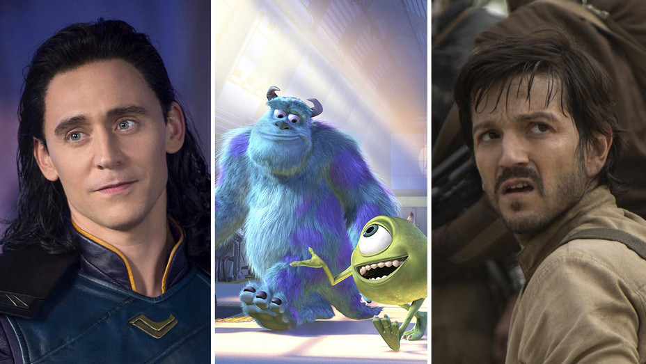 tom_hiddleston_as_loki_monsters inc_and_diego_luna_as_cassian -Photofest-Split-H 2019