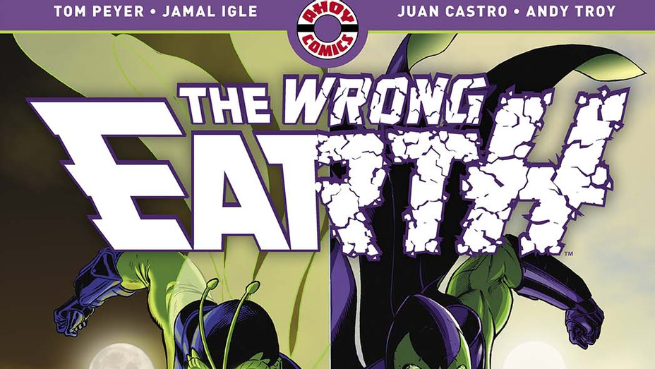 The Wrong Earth - AHOY Comics- Publicity-P 2019