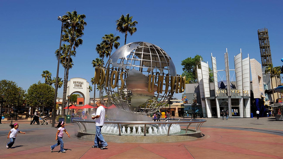 Universal Studios Hollywood globe-Getty-H 2019