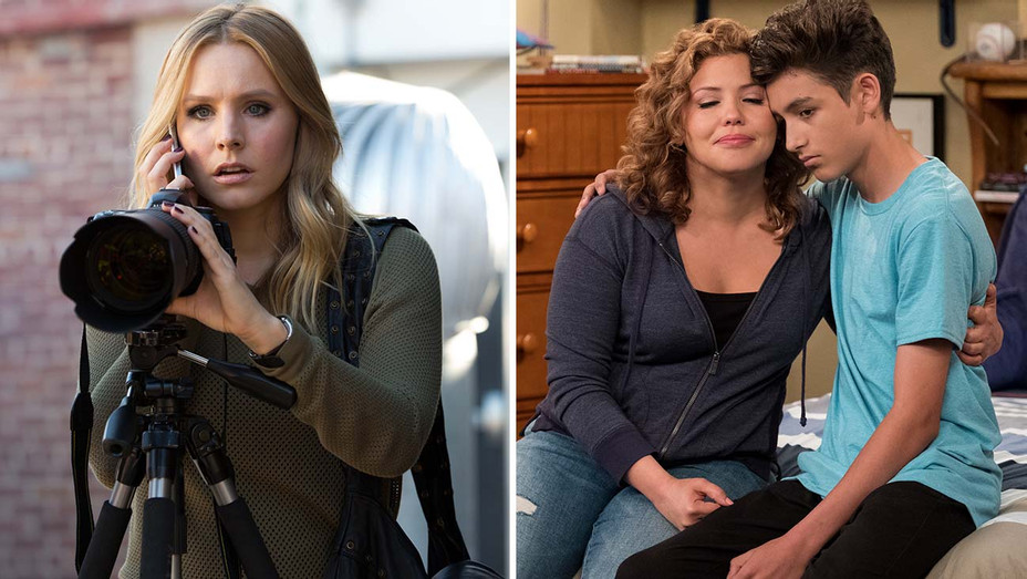 Veronica Mars and One Day at a Time -Split- H 2019