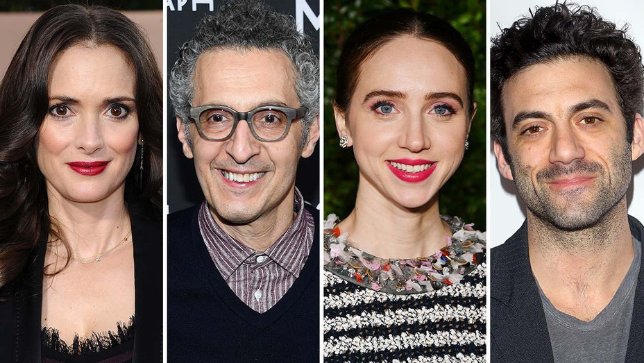 Winona Ryder, John Turturro, Zoe Kazan, Morgan Spector -Split-Getty-H 2019
