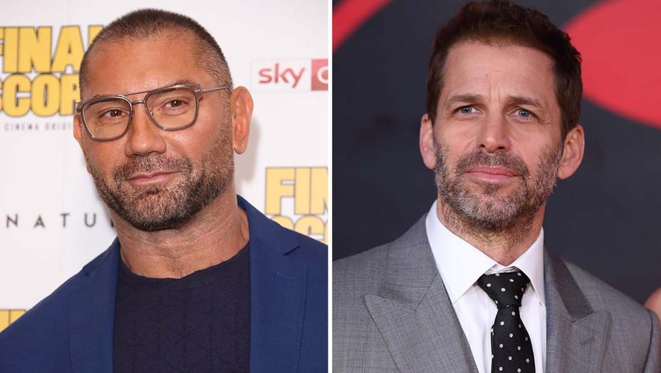 Dave Bautista Zack Snyder Split - Getty - H 2019