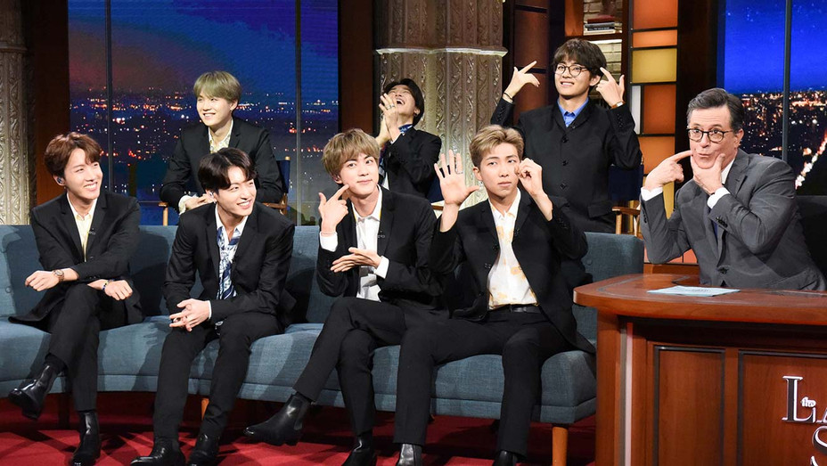 The Late Show with Stephen Colbert and guests BTS -May 15, 2019 -Publicity-H 2019