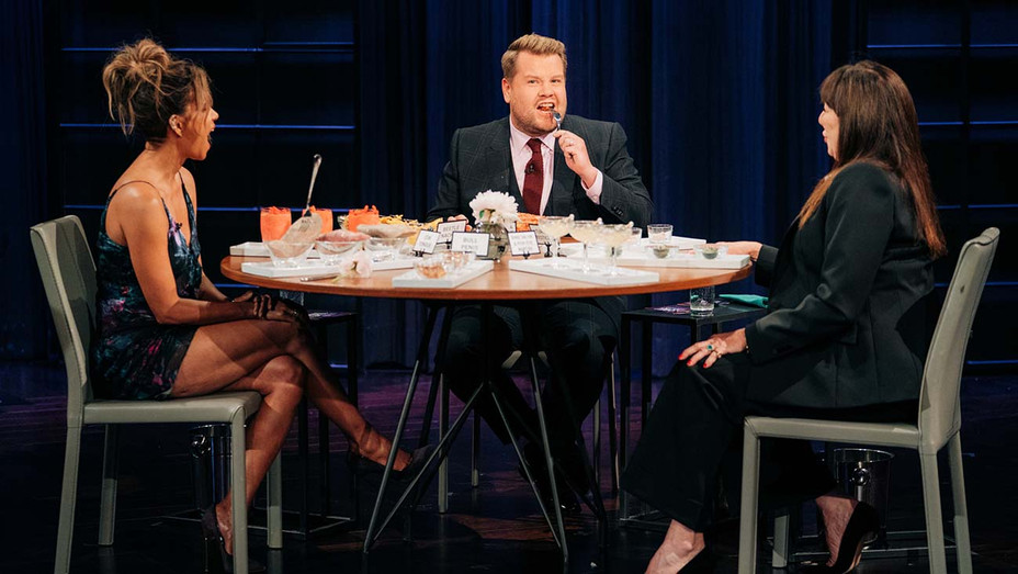 Angelica Huston and Halle Berry on The Late Late Show-Publicity - H 2019