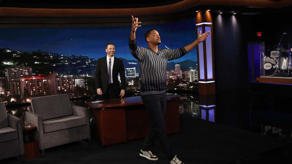 Jimmy Kimmel Live - JIMMY KIMMEL and  WILL SMITH- Publicity-H 2019