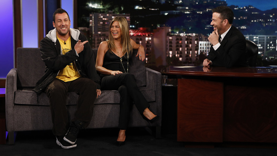 Jimmy Kimmel Live Adam Sandler Jennifer Aniston - Publicity - H 2019