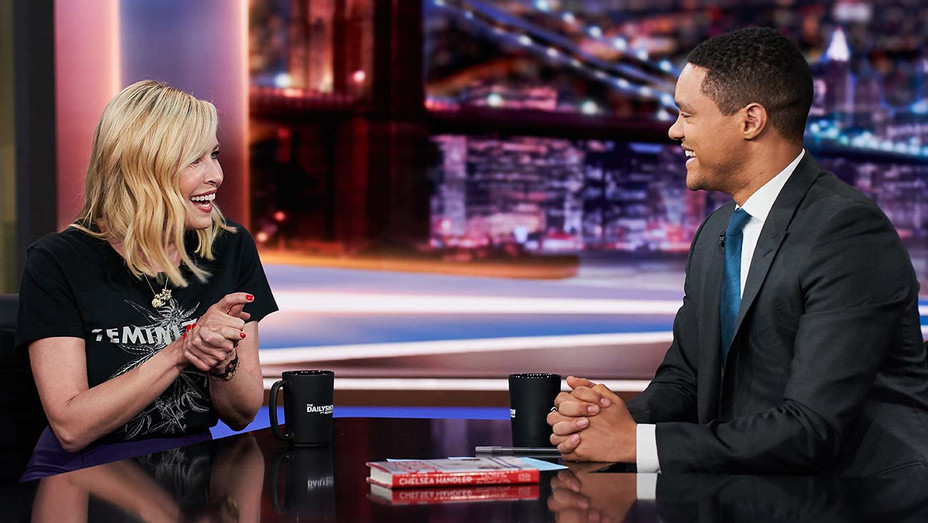 Daily Show with Trevor Noah - Chelsea Handler May 1, 2019- Publicity -H 2019