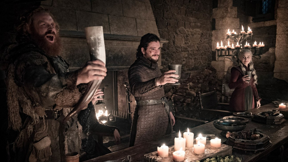 'Game of Thrones' S8E4 Winterfell celebration - Publicity - H 2019