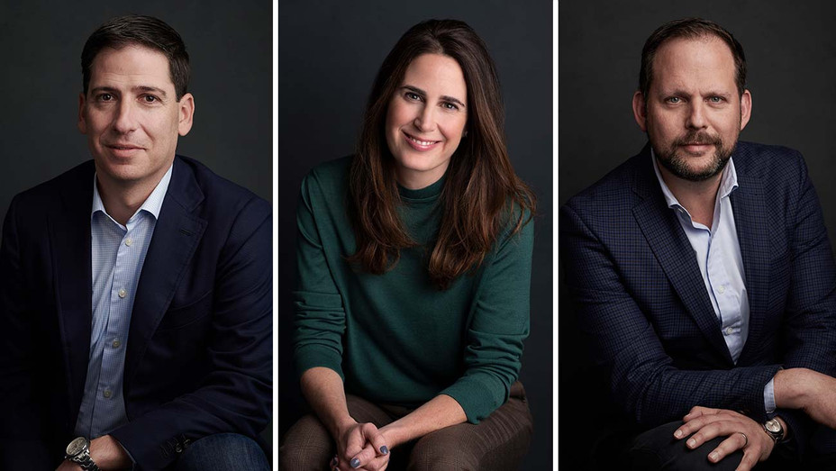 Eric Schrier, Gina Balian and Nick Grad-Publicity-Split-H 2019