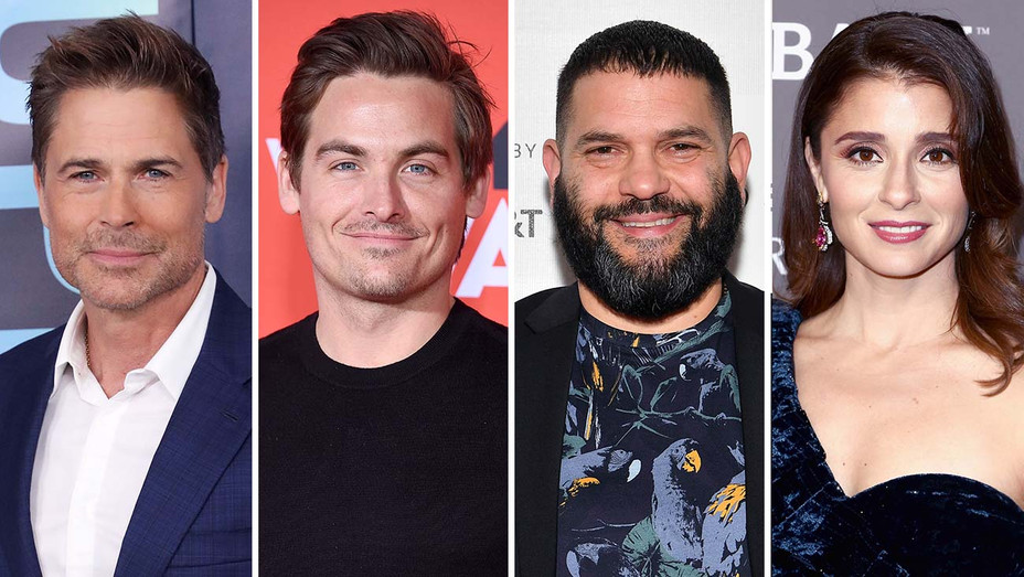 Rob Lowe, Kevin Zegers, Guillermo Diaz and Shiri Appleby_Split - Getty - H 2019