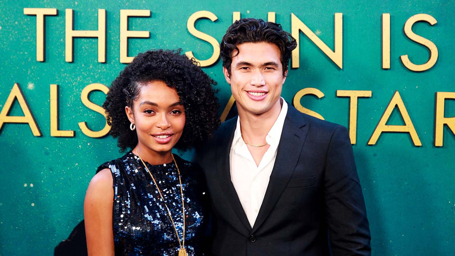 Yara Shahidi and Charles Melton - World Premiere Of The Sun Is Also A Star-Getty-H 2019
