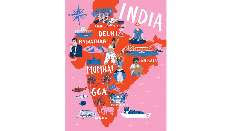 Cannes Spotlight India —Illustration by Ali Mac — H 2019