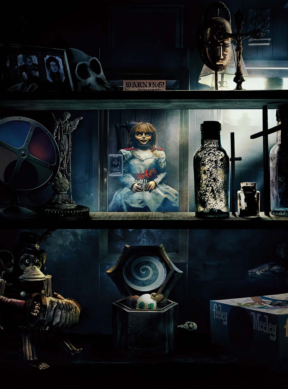 The Legends Behind The Artifacts Of Annabelle Comes Home Hollywood Reporter