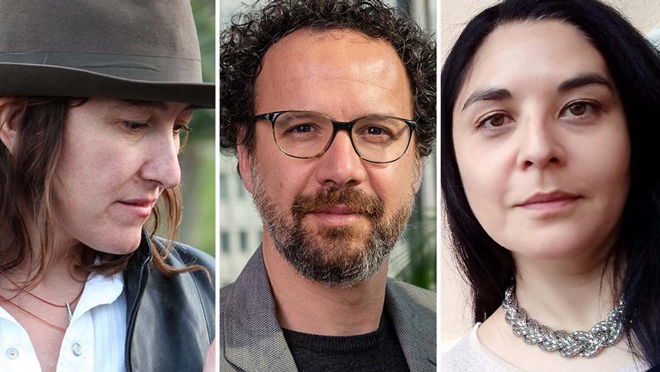 Athina Rachel Tsangari, Carlo Chatrian and Jessica Kiang-Split-Publicity-H 2019