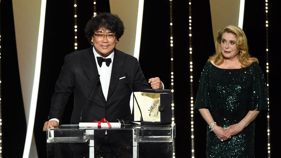 Bong Joon-ho Cannes Closing Ceremony 2019 - Getty - H 2019