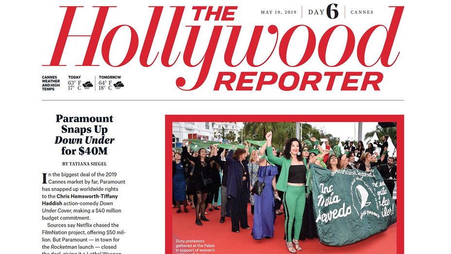 THR Cannes Daily 6 Screenshot — H 2019