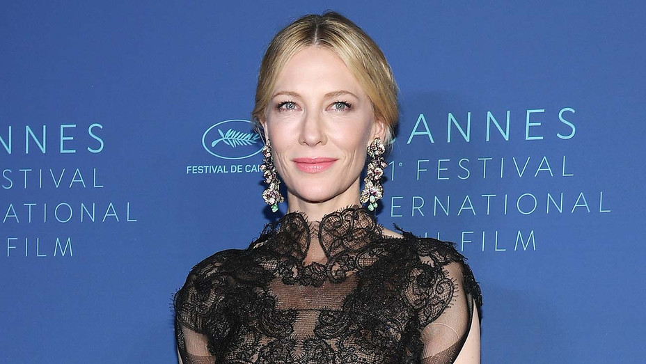Cate Blanchett arrives at the Gala dinner during the 71st annual Cannes Film Festival-Getty-H 2019