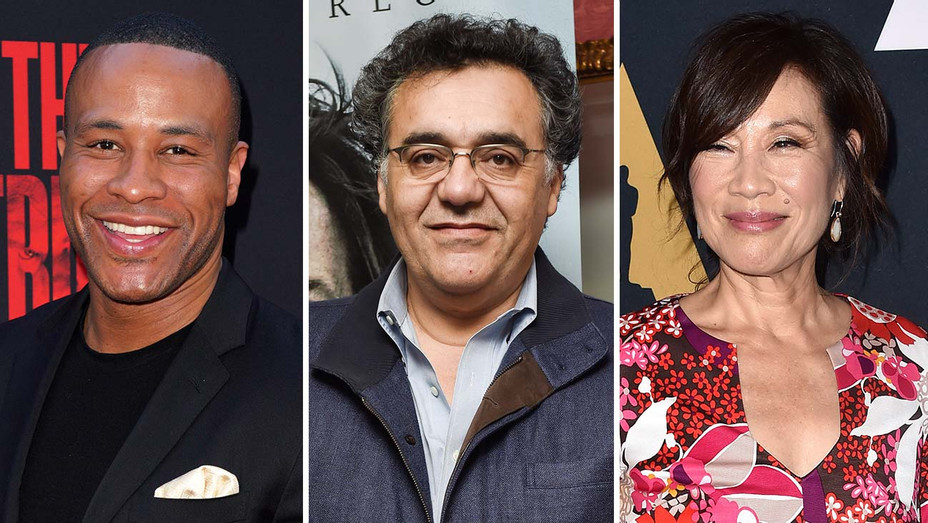 DeVon Franklin, Rodrigo Garcia  and Janet Yang - Split-Getty-H 2019
