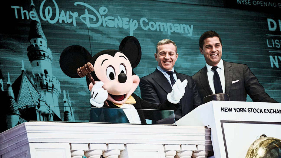 Mickey Mouse and Bob Iger - November 27, 2017- Getty- H 2019