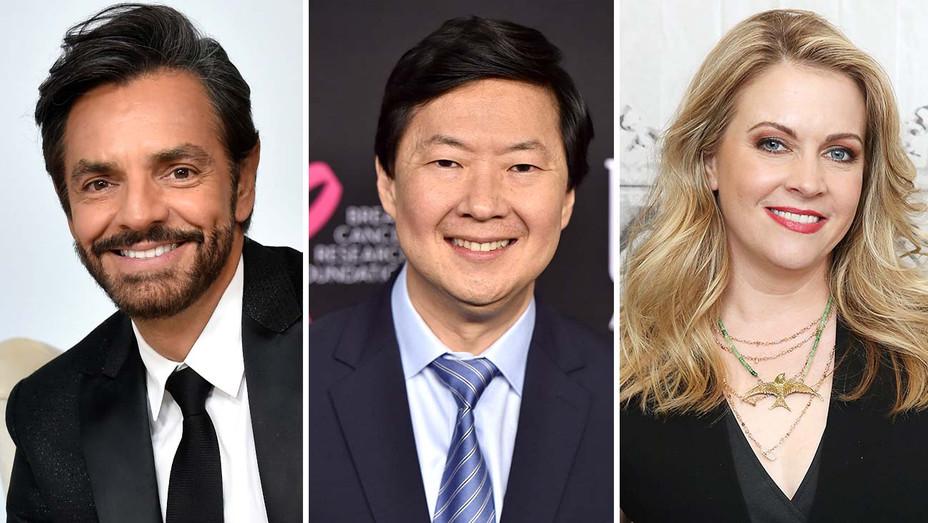 Eugenio Derbez, Ken Jeong and Melissa Joan Hart-Split-Getty-H 2019