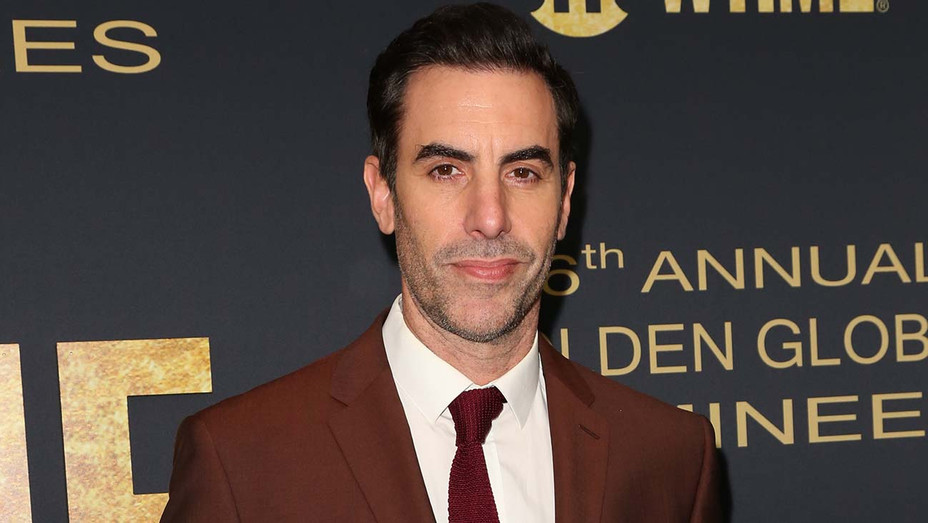 Sacha Baron Cohen attends the Showtime Golden Globe nominees celebration - Getty-H 2019