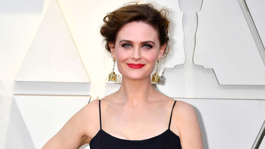 Emily Deschanel attends the 91st Annual Academy Awards - Getty-H 2019