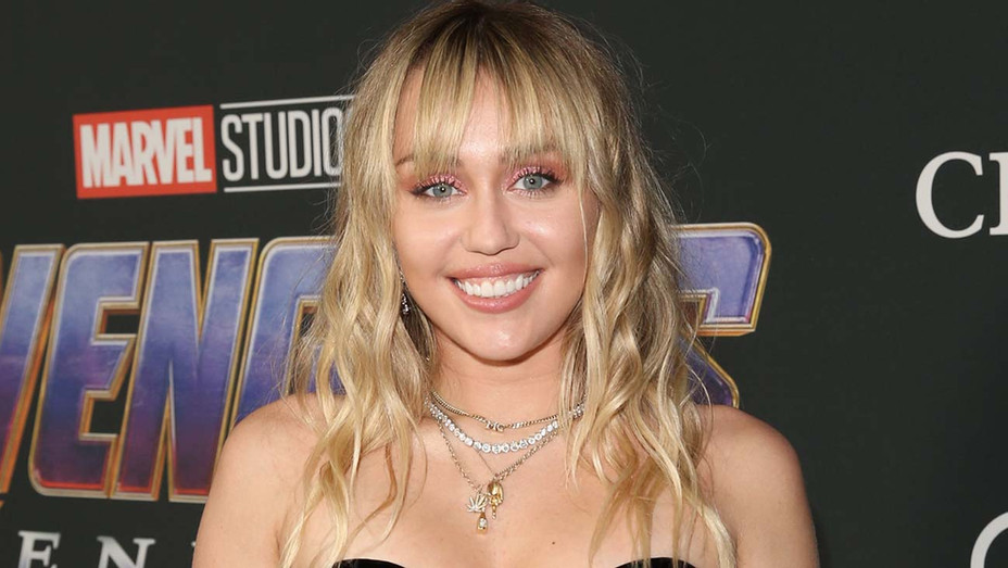 "Miley Cyrus attends the Los Angeles World Premiere of Marvel Studios' ""Avengers: Endgame"" - Getty-H 2019"