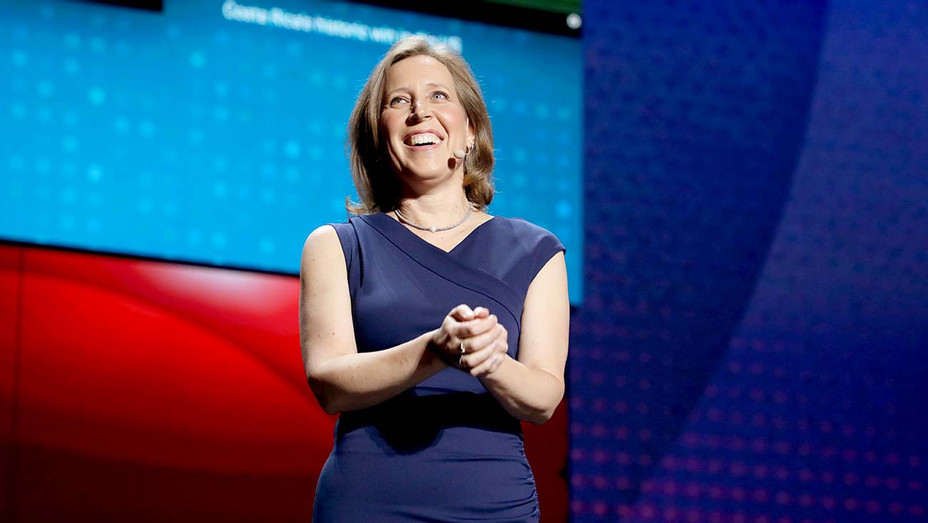 YouTube CEO Susan Wojcicki onstage at YouTube Brandcast 2019 - Getty -H 2019