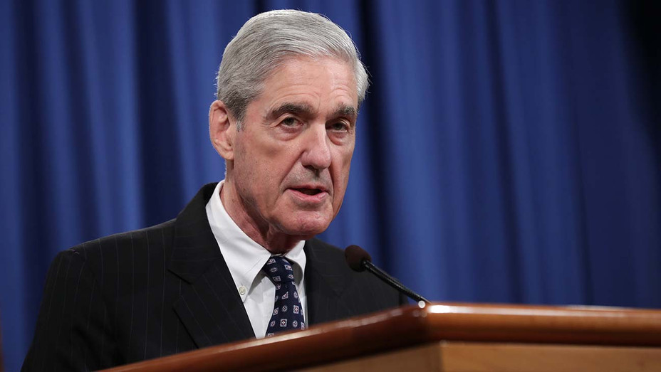 Robert Mueller makes a statement about the Russia investigation on May 29, 2019 -GETTY 4- H 2019