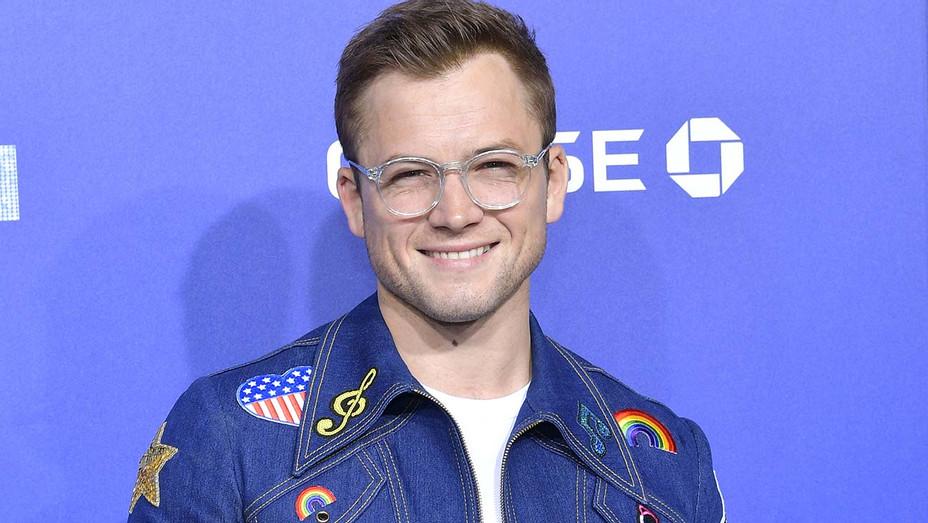 "Taron Egerton attends the US Premiere of ""Rocketman"" - Getty -H 2019"