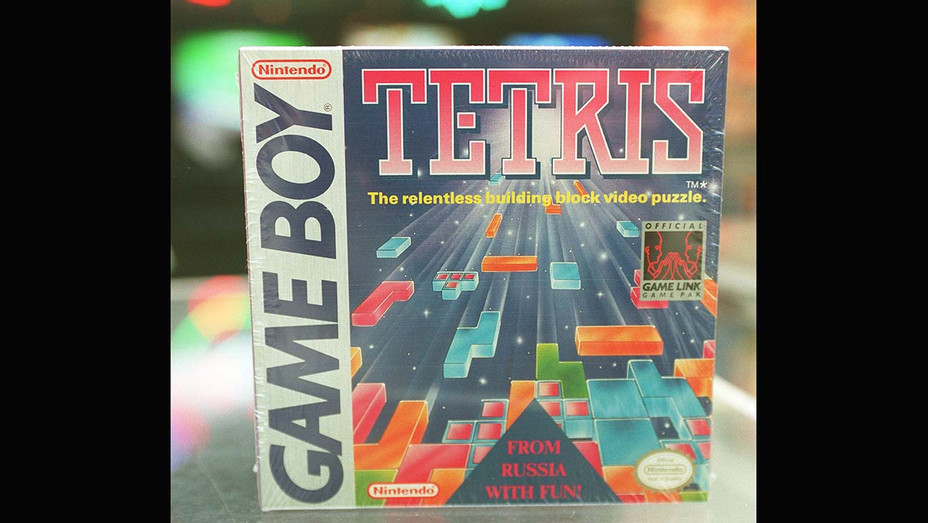 One TIME USE Only- The cover of Nintendo Game Boy game, Tetris - Getty-H 2019