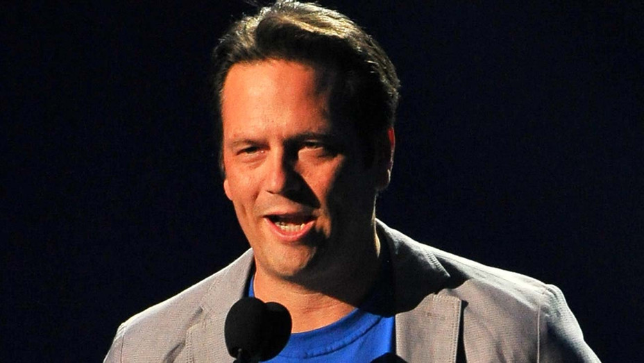Phil Spencer speaks onstage during The Game Awards 2015 - Getty-H 2019