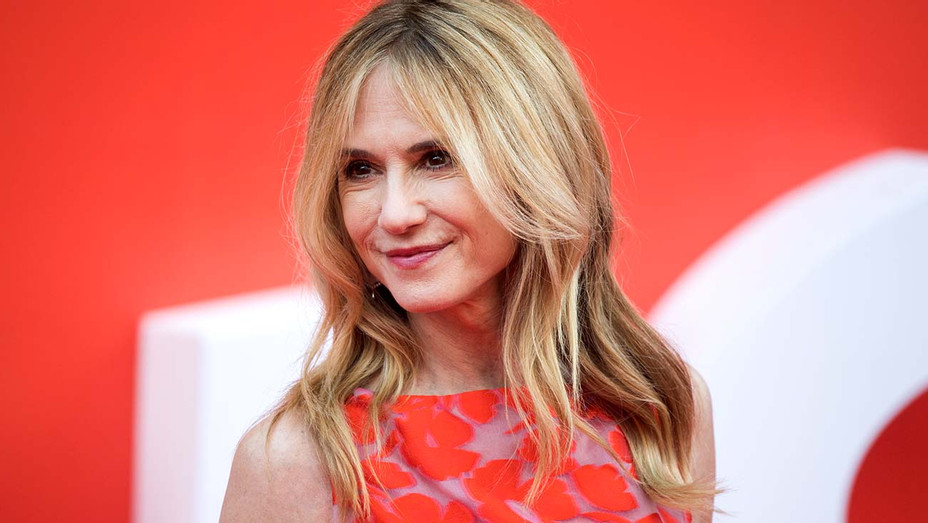Holly Hunter attends the 'Incredibles 2' UK premiere - Getty-H 2019