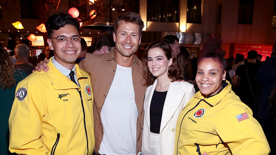 Glen Powell and Zoey Deutch - City Year Los Angeles' Spring Break: Destination Education-Getty-H 2019